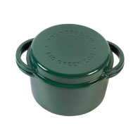 Big Green Egg ЧУГУННАЯ КАСТРЮЛЯ 2 В 1